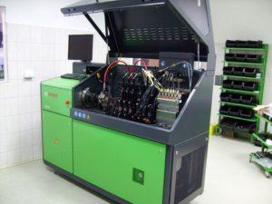 Regeneracja pomp wtryskowych   Urządzenie