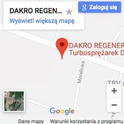Mapka Dakro Regeneracja