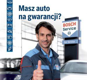 Przegląd gwarancyjny auta w serwisie Bosch Lublin
